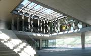 Blick in die neue Schulanlage Bündtmättli. Bild: Meyer-Gadient Architekten