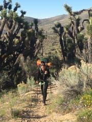 «Ich habe diese Strecke geliebt.» Sandra Wüthrich durchquert Kalifornien.