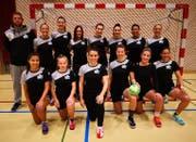 Die Damen des HC Buchs-Vaduz durften sich über die ersten Punkte der Saison freuen. Bild: PD