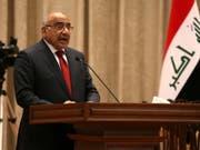 Der schiitische Politiker Adil Abdel Mahdi ist am frühen Donnerstagmorgen zum Regierungschef des Irak ernannt worden. (Bild: KEYSTONE/EPA IRAQI PARLIAMENT/IRAQI PARLIAMENT / HANDOUT)