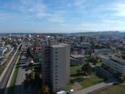 Die Skyline von Amriswil könnte sich in den nächsten Jahren verändern. (Bild: Manuel Nagel)