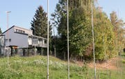 Am westlichen Dorfeingang sind Einfamilienhäuser geplant.