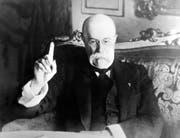 Tomas Garrigue Masaryk, der erste Präsident der unabhängigen Tschechoslowakei, in einer Aufnahme von 1934. (Imago)