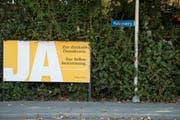 Der St.Galler Gewerbeverband hat sich nur knapp für die Selbstbestimmungs-Initiative ausgesprochen. (Bild: Peter Schneider/Keystone)