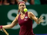 Schafft an den WTA Finals den Sprung in die Halbfinals: Kiki Bertens (Bild: KEYSTONE/EPA/WALLACE WOON)