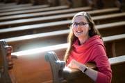 Hat sich schon als Kind für Religion interessiert: Vanessa Furrer. (Bild: Eveline Beerkircher, Luzern, 25. Oktober 2018)