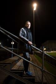 Seit November 2012 ist Giuseppe Gambino als Trainer des FC Gossau tätig. (Bild: Benjamin Manser)