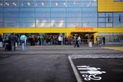 Die Ikea-Filiale in Rothenburg wurde vor sieben Jahren am 8. November 2011 eröffnet. (Bild: Pius Amrein, Rothenburg, 8. November 2011)
