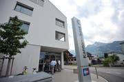 Die Geschäftsstelle der UKB in Schattdorf wies bauliche Mängel auf. (Bild: Urs Hanhart, 12. Juni 2017)