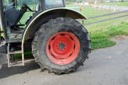 Dies ist der in den Unfall involvierte Traktor. (Bild: Luzerner Polizei)