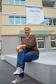 Brigitte Betschart freut sich auf die Eröffnung des «Schäfli». (Bild: Karin Erni)