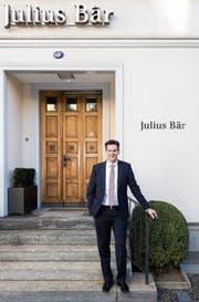 «Es gibt kein Schlupfloch»: Michael Eicher bei Julius Bär in St.Gallen. (Bild: Thomas Hary (25. Oktober 2018))