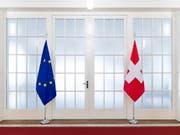 Die Aussenpolitische Kommission des Ständerates will die Kohäsionsmilliarde nicht an Bedingungen knüpfen. Das beschloss sie allerdings mit knapper Mehrheit. (Bild: KEYSTONE/PETER KLAUNZER)