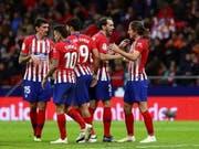 Nach der schweren Niederlage in der Champions League rehabilitiert sich Atlético mit einem Sieg in der Liga (Bild: KEYSTONE/EPA EFE/RODRIGO JIMENEZ)