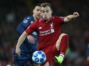 Xherdan Shaqiri kommt und trifft gegen Aufsteiger Cardiff City (Bild: KEYSTONE/EPA/NIGEL RODDIS)