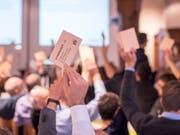Eine Mehrheit der GLP-Delegierten waren am Samstag in Sursee der Ansicht, dass die kritischen Punkte überwiegen: Sie lehnt das Gesetz zur Überwachung von Sozialversicherten ab. (Bild: Urs Flüeler/Keystone)