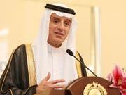 Saudi-Arabiens Aussenminister Adel al Dschubeir hat das Nein Riads zur Auslieferung der Verdächtigen im Fall Khashoggi an die Türkei bekanntgegeben. (Bild: KEYSTONE/AP/ACHMAD IBRAHIM)