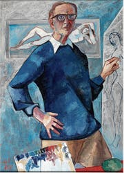 Hans Schilter im Selbstporträt. (Bild: PD)