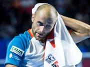 Marius Copil steht in Basel im Final (Bild: KEYSTONE/AP Keystone/ALEXANDRA WEY)