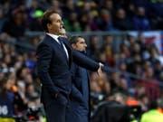 Die Clasico-Niederlage von Real Madrid könnte das letzte Spiel von Coach Julen Lopetegui gewesen sein (Bild: KEYSTONE/EPA/TONI ALBIR)