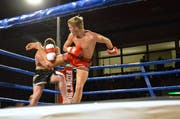Hart geführte Kämpfe sorgten für viel Spannung an der Fightnight im Lindenhof. (Bild: Christoph Heer)