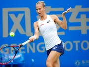Viktorija Golubic gewinnt das ITF Turnier in Poitiers (Bild: KEYSTONE/EPA/WU HONG)