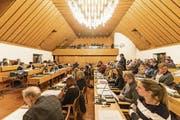 Am 11. Dezember, ab 16 Uhr, entscheidet das St.Galler Stadtparlament im Waaghaussaal über das Budget 2019. (Bild: Hanspeter Schiess)