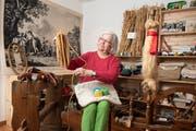 Ruth Zwahlen in ihrem Hanfmuseum. (Bild: Alex Spichale)