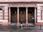 Mit Überwachungskameras gesichert: die Synagoge der Israelitischen Cultusgemeinde Zürich. (Bild: KEYSTONE/CHRISTIAN BEUTLER)