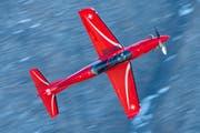 Ein PC-21 von Pilatus. (Bild: KEY)
