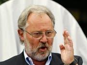 «Pilatus hat alles richtig gemacht»: Oscar Schwenk, Verwaltungsratspräsident des Stanser Flugzeugbauers Pilatus. (Bild: KEYSTONE/URS FLUEELER)