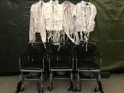 Rollstühle und Zwangsjacken sind Utensilien, welche die Besucher der «Dark Nights» nur allzu gut kennen lernen. (Bild: PD)