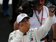 Lewis Hamilton hat noch weitere Ziele vor Augen (Bild: KEYSTONE/AP/MARCO UGARTE)