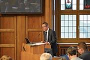 Als PK-Präsident stellte Oliver Schmid gestern das überarbeitete Gesetz vor. (Bild: PAG)