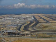 Neuer Flughafen in Istanbul wird in Betrieb genommen. (Bild: KEYSTONE/AP/EMRAH GUREL)