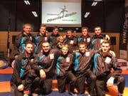 Die erste Mannschaft des RC Oberriet-Grabs ist auf bestem Weg, die Playout-Serie gegen Sense für sich zu entscheiden. (Bild: PD)