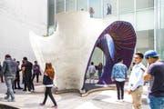 Die Betonstruktur «KnitCandela» in Mexiko-City. (Bild: ETH Zürich)
