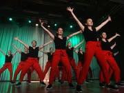 Die damen leben auf Choreographie grossen Wert. (Bild: Erwin Schönenberger)