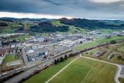 Das Energienetz GSG Gossau-St.Gallen-Gaiserwald plant im Industriegebiet zwischen St.Gallen, Gossau und Gaiserwald ein Abwärmenetz. Der Verbund diente der neuen «Plattform Energie und Mobilität» als Inspiration. (Bild: Hanspeter Schiess und Benjamin Manser (23. November 2016))