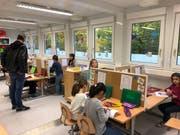 Einblick in das Klassenzimmer der Erstklässler. (Bild: PD)