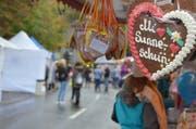 Sonnenschein gab es zwar nicht am Gamser Herbstmarkt, dafür bot er ein vielfältiges Programm für Gross und Klein. (Bilder: Katharina Rutz)