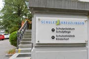 Eingang ins Schulpräsidium Kreuzlingen. (Bild: Donato Caspari)