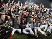 Die Boston Red Sox entschieden die World Series gegen die Los Angeles Dodgers mit 4:1 Siegen für sich und holten den vierten Titel innerhalb von 15 Jahren (Bild: KEYSTONE/EPA/MIKE NELSON)