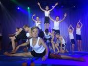 Die Jugend ist mit grossem Engagement dabei. (Bild: Erwin Schönenberger)
