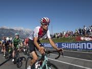 ABD0131_20180928 - INNSBRUCK - OESTERREICH: Gino Maeder (SUI) am Freitag, 28. September 2018, waehrend dem Strassenrennen der U23 Herren von Kufstein nach Innsbruck (186,2 km) im Rahmen der UCI Strassenrad WM in Innsbruck. (KEYSTONE/APA/EXPA/REINHARD EISENBAUER) (Bild: KEYSTONE/APA/APA/EXPA/REINHARD EISENBAUER)