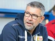 Schweizer Trainer-Duell im deutschen Cup: Urs Fischer fordert mit Union Berlin im deutschen Cup das grosse Borussia Dortmund mit Lucien Favre (Bild: KEYSTONE/DPA/FRISO GENTSCH)