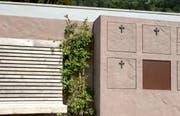 Eine rosenumrankte Bank lädt ein, sich zwischen die Toten zu setzen. (Bild: Tushar Desai)