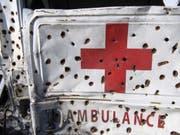 Manche Regionen sind für die Katastrophenhilfe schwer erreichbar, weil Rebellen oder Banden die Wege unsicher machen. (Bild: Keystone/MARTIAL TREZZINI)