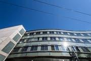 Gebäude Müller-Friedbergstrasse 6 und 8, von der Universität St.Gallen gemietet für Forschung und Dienstleistungen. (Bild: Michel Canonica, Mai 2017)
