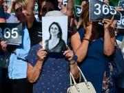 Journalistinnen und Journalisten werden immer häufiger bei ihrer Arbeit getötet: Die maltesische Journalistin Daphne Caruana Galizia starb im vergangenen Jahr bei einem Anschlag. (Bild: KEYSTONE/AP/JOHN BORG)